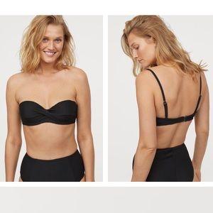 NWT H&M ribbed bikini top